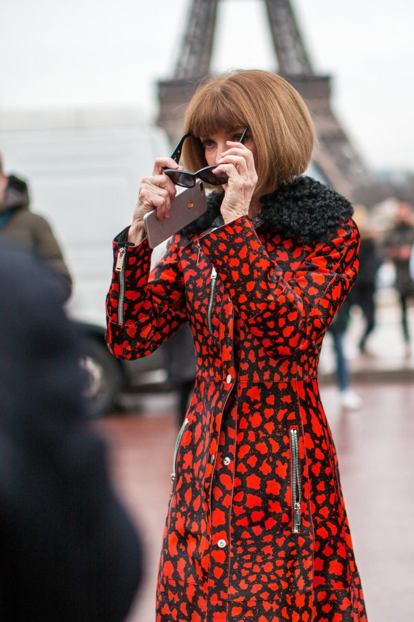 ANNA WINTOUR IN PARIS