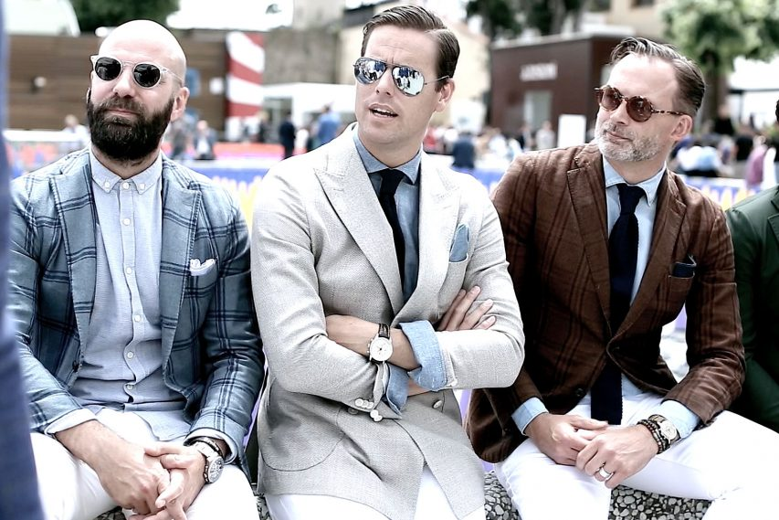PITTI UOMO 2015 ON MOTION